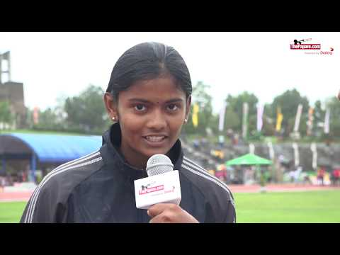 Interview with Sangavi, National Level athletic winner from Savakachcheri Hindu college