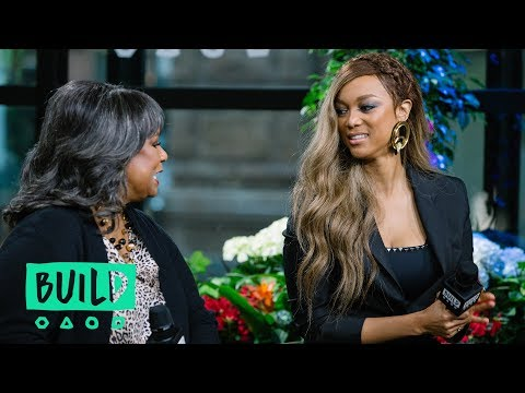 Tyra Banks And Her Mother, Carolyn London, Dig Into Their Book,