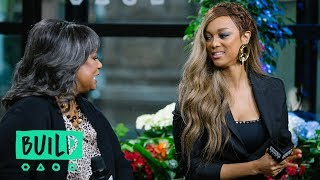 """Tyra Banks And Her Mother, Carolyn London, Dig Into Their Book, """"Perfect Is Boring"""""""