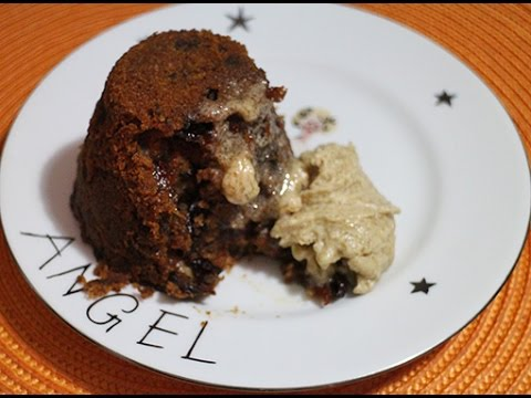Quick Christmas Pudding With Brandy Butter Recipe
