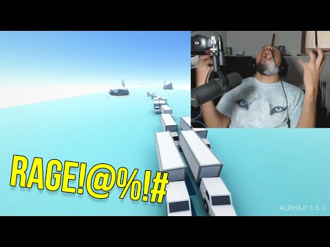 THIS GAME IS TOO INTENSE | ClusterTruck #1 [RAGE] |