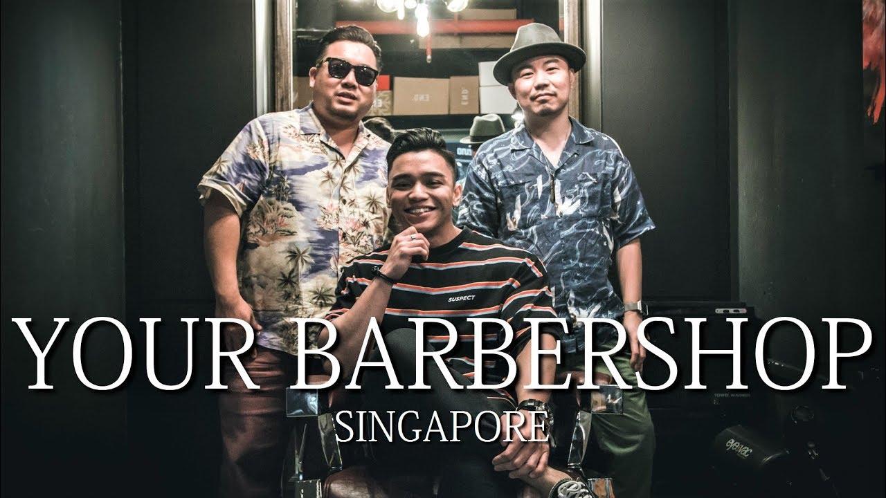 YOUR BARBERSHOP SINGAPORE   Quincy Fiber Gel Review