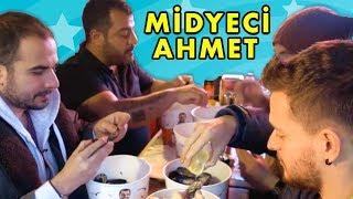 Midyeci Ahmet VS. OHA Diyorum - Midye Dolma Yeme Kapışması - Hesap Ödetmeli