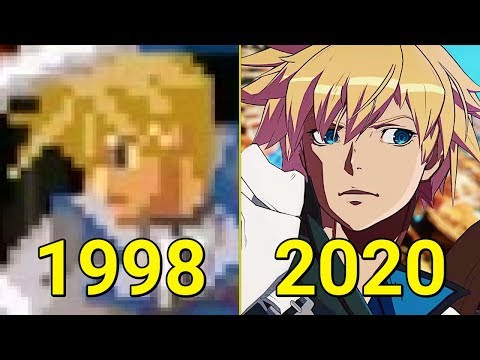 Evolution of Guilty Gear Games 1998-2020