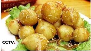 Китайский ямс в сладком сиропе