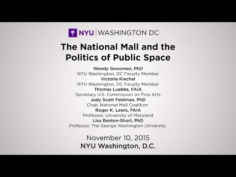 The National Mall and the Politics of Public Space