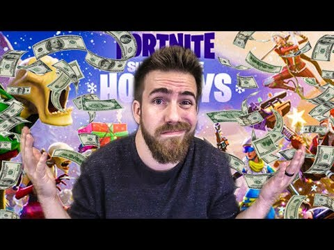 Download Youtube: FORTNITE MADE ME SPEND $100 ON THE NEW CHRISTMAS UPDATE