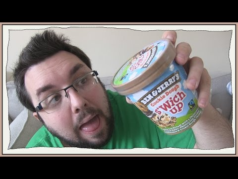 Ben & Jerry's Cookie Dough S'wich Up Review
