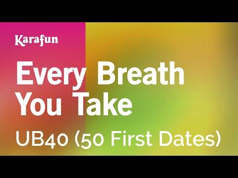 Karaoke Every Breath You Take - UB40 *