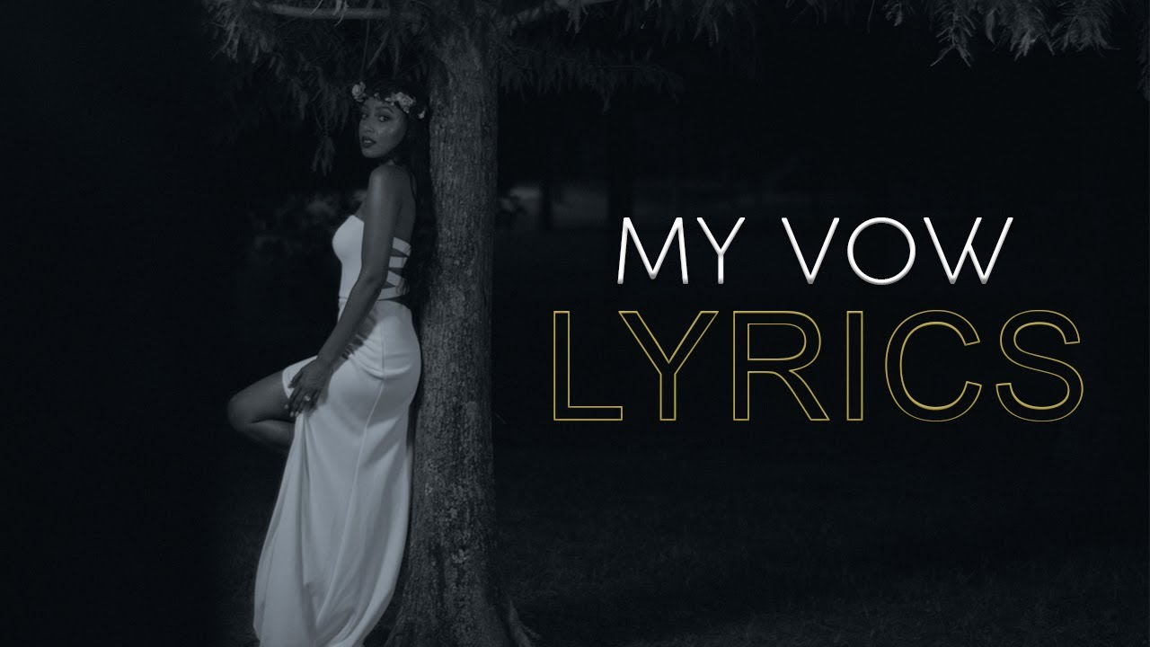 Meddy  My Vow Official Lyric Video