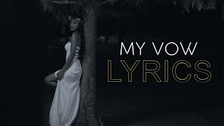 Meddy - My Vow (Official Lyric Video)
