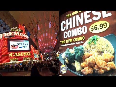 Fremont Street Food POLYNESIAN ISLANDS Old Las Vegas Casino