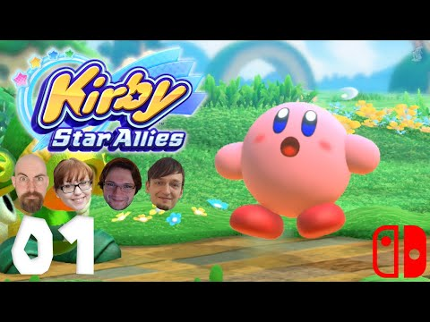 KIRBY STAR ALLIES #01: Wuseliges Durcheinander | Switch | Let's Play KIRBY Together | 1080p