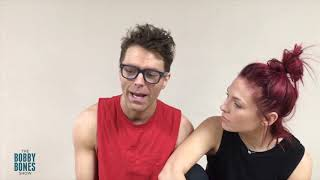 Bobby (Kind Of) Addresses Dating Rumors With DWTS Partner Sharna