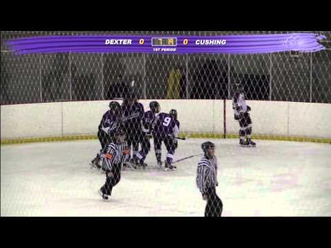 Cushing Academy - Varsity Boys Ice Hockey vs. Dexter School
