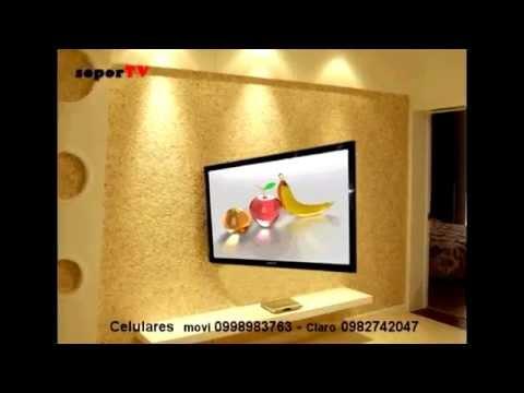 Soportes Brazo Plegable Y Giratorio A Techo De Televisor