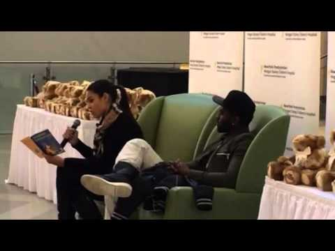 Jordin Sparks Reads To Nyp Pediatric Patients Youtube