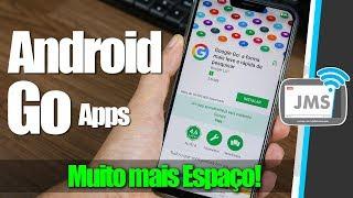Como deixei o Android SUPER RÁPIDO e com MUITO MAIS ESPAÇO com o Android Go
