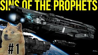 Halo: Space Battles -- UNSC Infinity Beats Everything! Halo: Sins of the Prophets #1