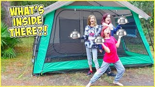 GETTING ROOM SERVICE DELIVERED TO OUR TENT!! thumbnail