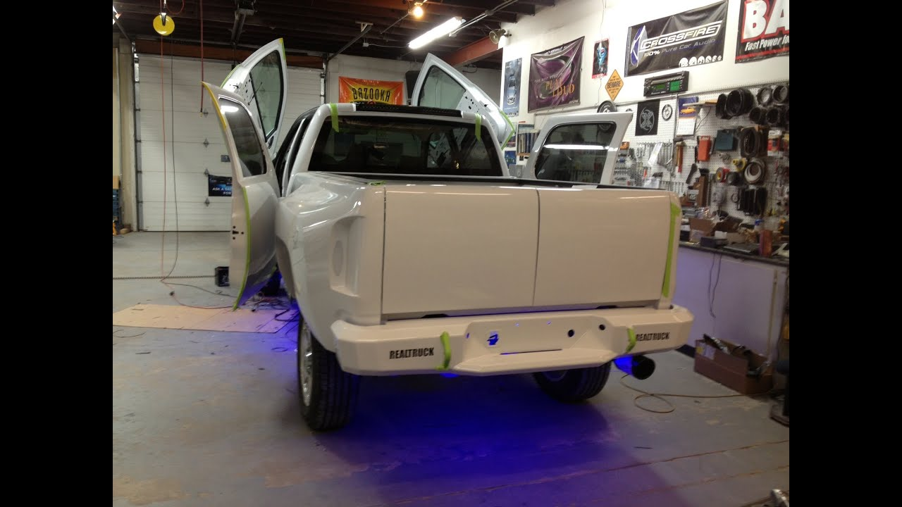 Storm Truck Project Episode 16 Custom Tail Lights Tailgate And 1988 Chevy Light Wiring Harness Free Download Bumper Youtube