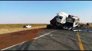 Two die in horror crash on N17 between Bethal and Ermelo