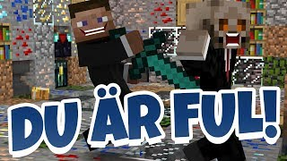 DU ÄR FUL | Minecraft Blocked In Combat