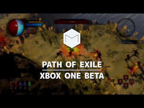 Path of Exile   Xbox One Beta   Act I & First Impressions