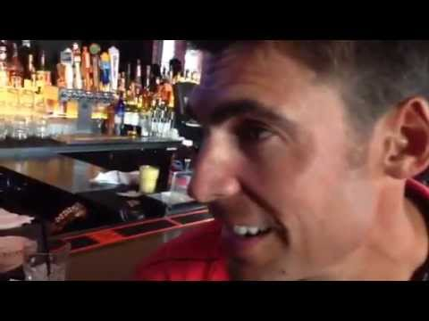 NBA Brothers Interview Wally Szczerbiak At Clydes WIne & Dine Rucker 50th Anniversary