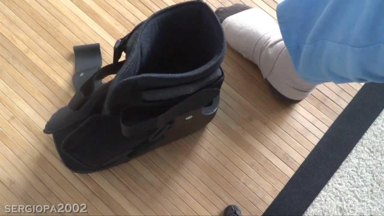 Revisión y comentarios de la bota Equalizer para fractura de huesos ...