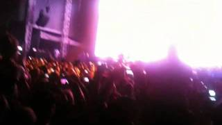 Eminem at Kanrocksas 2011 Intro (I won't back down)