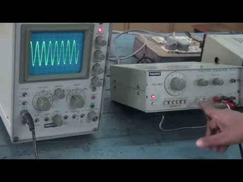 Frequency Generator, CRO -  Sunita Jacob