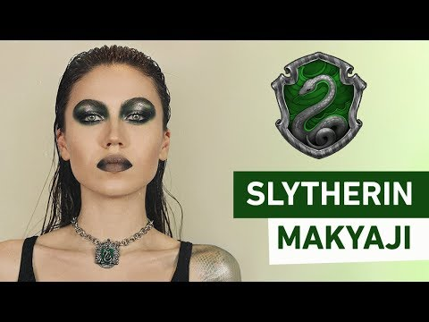 Slytherin Makyajı | Slytherin Makeup Tutorial