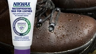 Leather Boot Waterproofing & Care