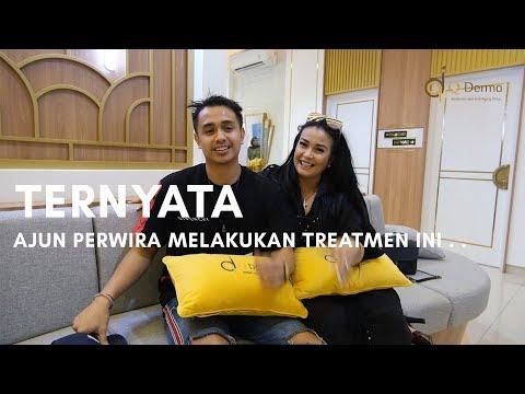 Ajun Perwira Dan Jennifer Supit Treatment PRP Rambut Dan Vagina Ozone Di Q Derma Clinic