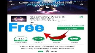 How to Free Download Geometry Wars 3 Dimensions for Android