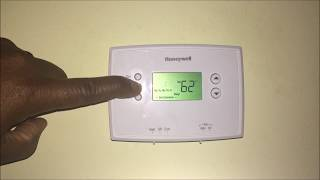 How To Easily Program a Honeywell Thermostat