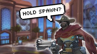 McCree wanted to hold spawn...so we did