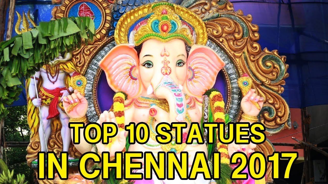 Top 10 Lord Ganesh Statues In Chennai