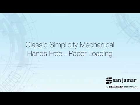Classic Simplicity Mechanical Hands Free T7000 - How To Load