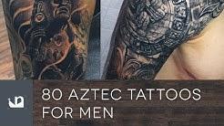 80 Aztec Tattoos For Men