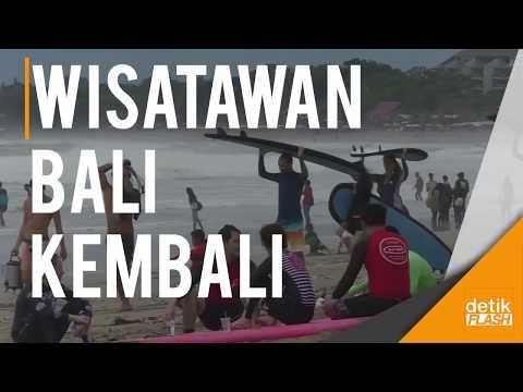 Turis Mulai Berdatangan ke Bali Pasca Erupsi Gunung Agung!