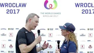 Interview with Joachim Gossow, CEO of the IWGA at The World Games 2017