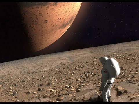 Standing on Martian Moons Phobos and Deimos