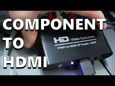 Component To HDMI Converter: Record From PS2, PS3, Wii, Wii U, & More