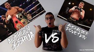 Anthony Joshua VS Alexander Povetkin predictions - LifeOfAris