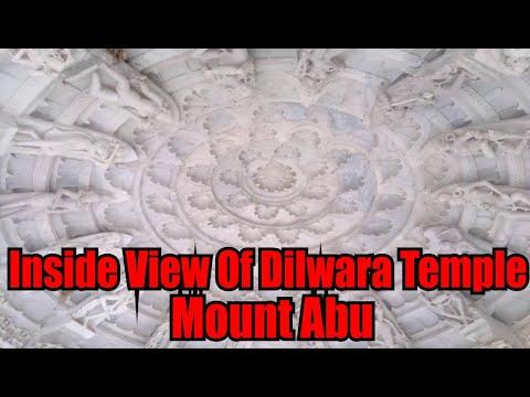 Inside View Of Dilwara Jain Temple Mount Abu