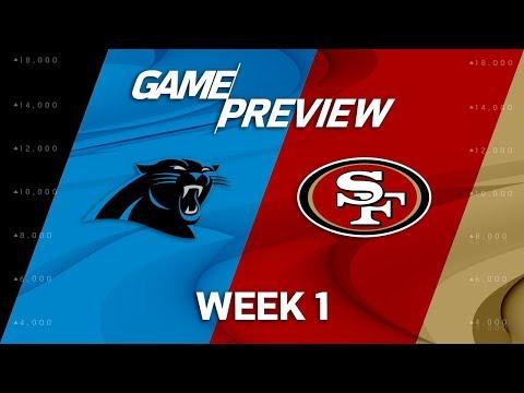 Carolina Panthers vs. San Francisco 49ers | Week 1 Game Preview | NFL Playbook
