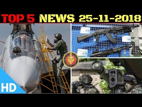 Indian Defence Updates : AK-103 Technology Transfer,DRDO MPATGM Trials,2 Stealth Frigates by 2021