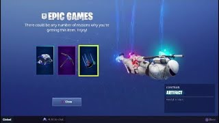 "Fortnite PlayStation Plus Pack 3 ""Free"""